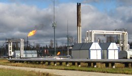 Объект подготовки нефти в две ступени сепарации