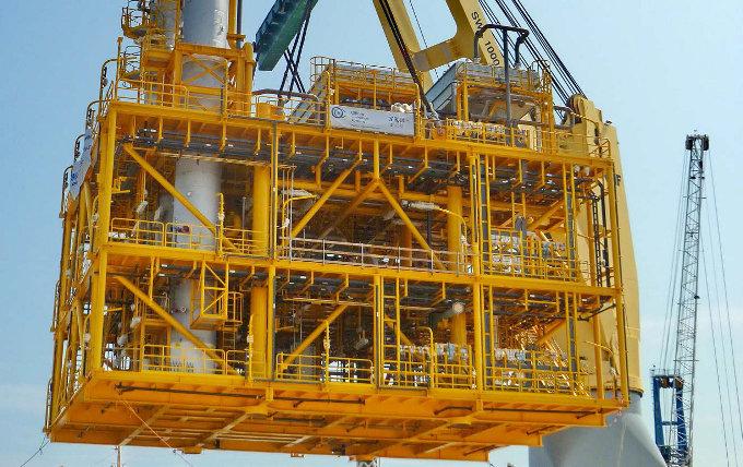Установка сероочистки попутного нефтяного газа COMART