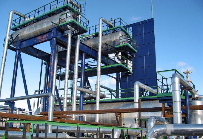 Разделительные сепараторы на установке подготовки нефти