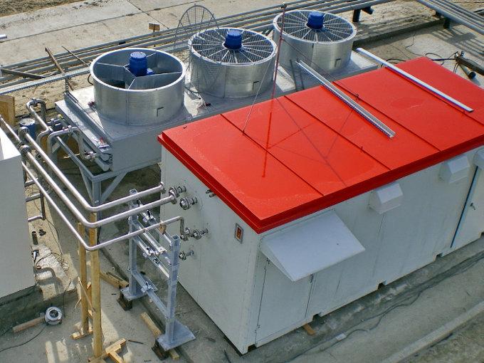 Адсорбционный осушитель для дополнительной осушки попутного газа на ЦПС Западно-Могутлорского месторождения Аганнефтегазгеология