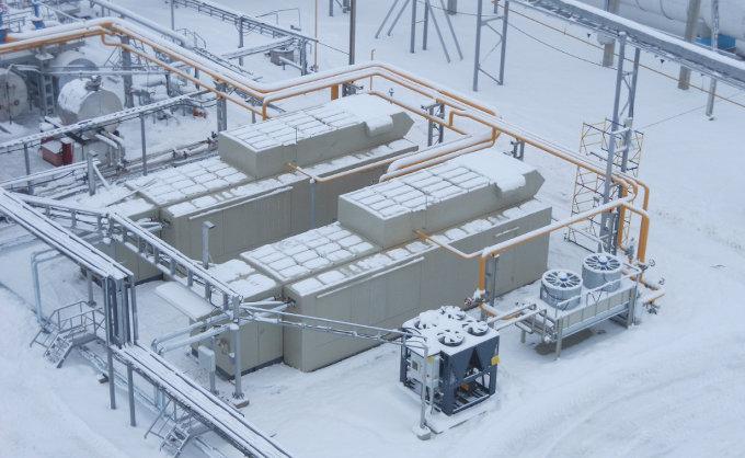 Компрессорная станция Речицкого месторождения Белоруснефть компримирует низконапорный ПНГ