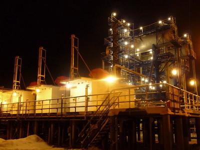 ДКУ низкого давления на УПН Варандейского месторождения