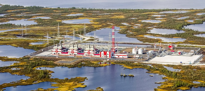 Газотурбинная электростанция Ватьеганского месторождения ООО ЛУКОЙЛ-Западная Сибирь