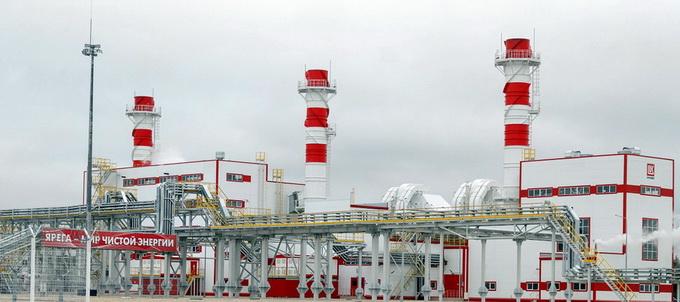 Энергоцентр Ярега В качестве топлива используется природный газ