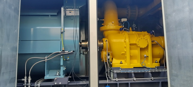 Основа ДКС-2 – винтовой компрессор с электродвигателем