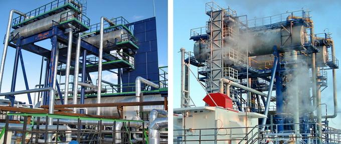 Разделительные сепараторы на установках подготовки нефти