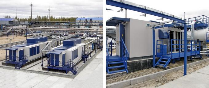 Вакуумные компрессорные установки «ЭНЕРГАЗ» на Вынгапуре для низконапорного ПНГ (0,001 МПа)